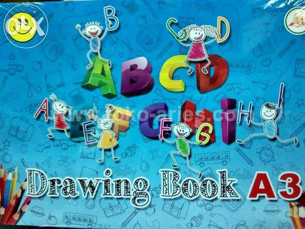 DRAWING BOOK A3 AA