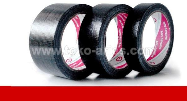 CLOTH TAPE HITAM 2.INCH DAIMARU