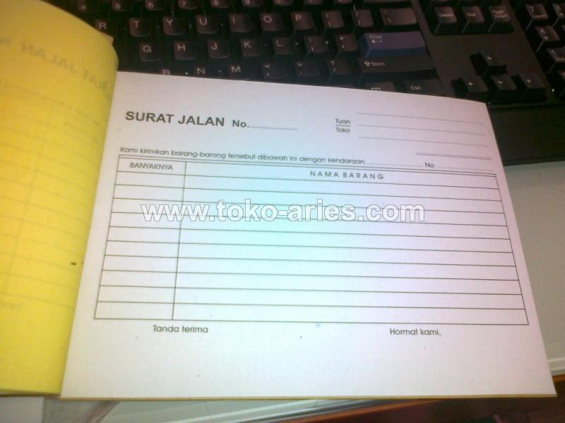 SURAT JALAN 4 PLY BT /PCS