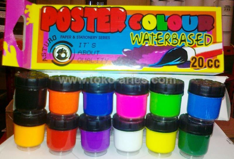 CAT POSTER COLOUR WATERBASED 20CC